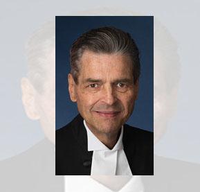 Canada's Senate Spaker Pierre Claude Nolin