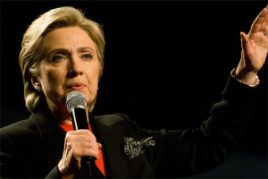 """Hillary Clinton (by Brett Weinstein)"" by Brett Weinstein - http://www.flickr.com/photos/nrbelex/2232632457/in/photostream/. Licensed under CC BY-SA 2.0 via Wikimedia Commons"