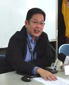 Commissioner John Sevilla announced his resignation and said it will take effect as soon as Philippine President Benigno Aquino III names a successor.