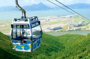 Hong Kong's Ngong Ping Cable Car