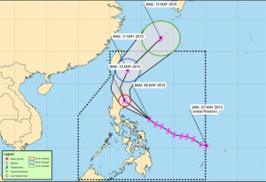 Super Typhoon Noul (Dodong) killed two persons in the Philippines