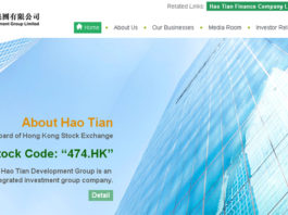 Hao Tian Development Group Limited