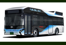 Toyota Fuel Cell Buses