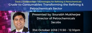 Sourabh Mukherjee, Director of Petrochemicals, Jacobs
