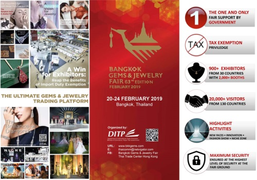 The 63rd Bangkok Gems Jewelry Fair Bgif The Biggest Jewellery