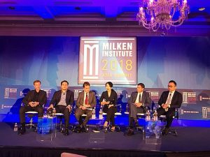 Coinsuper Co-founder & CEO, Karen Chen, was invited to share her insights on the crypto markets at Milken Institute Asia Summit on Sept 13 in Singapore.