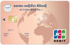ACLEDA JCB Debit Card (USD)