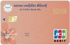 ACLEDA JCB Debit Card (KHR)