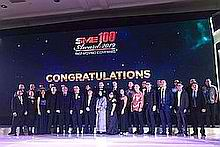 29 Indonesian 'Fast Growing Companies' garner SME100 Awards honors in Jakarta, June 14.