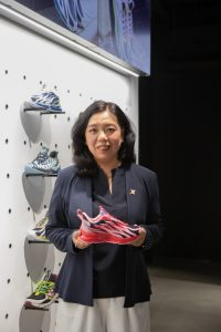 Photo 2: Ms. Holly Li, CEO of Xtep brand