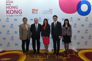 John Chiang, former State Treasurer, State of California; Dr Peter K N Lam, HKTDC Chairman; Fiona Ma, State Treasurer, State of California; Edward Yau, Secretary, Commerce & Economic Development, HKSAR; Margaret Fong, HKTDC Executive Director (L-R)