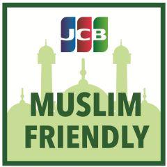 Participating restaurants show this logo