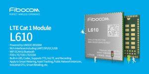 Fibocom at Embedded World 2020: UNISOC 8910DM Powered LTE Cat.1 Module