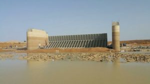 Dam Construction Site in Mali