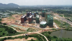 Live view of the first phase of Sihui campus (Photographed in May 2020)