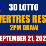 3d Swertres Lotto 2PM draw Result