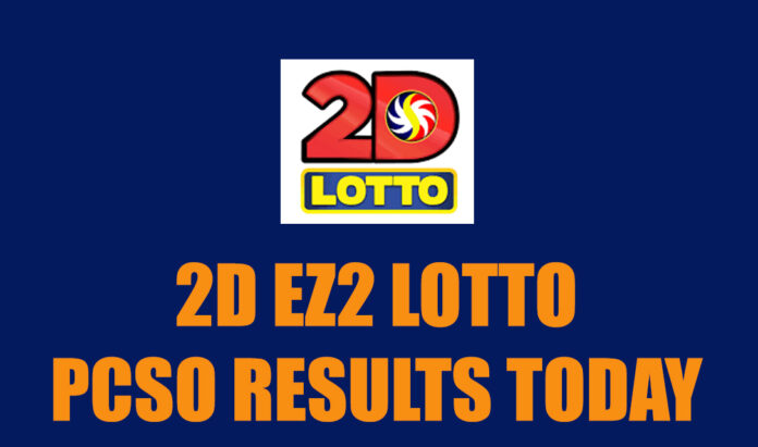 2D Lotto Results Today