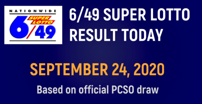 6/49 Super Lotto Result