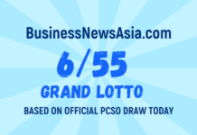 6/55 Grand Lotto Result