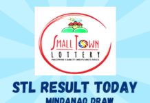 STL RESULT TODAY Mindanao