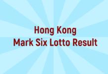 Hong Kong Mark Six Lotto