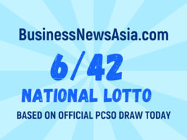 6/42 Lotto Result Today