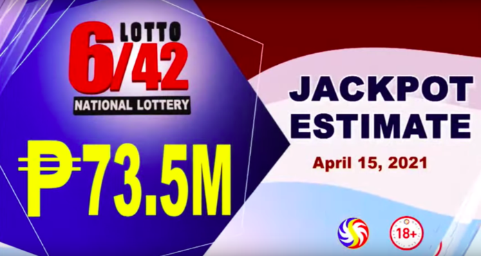 6/45 Lotto Result