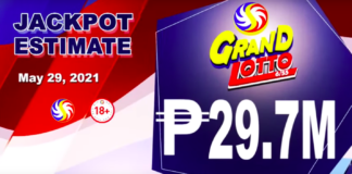 6/55 Grand Lotto Result Today