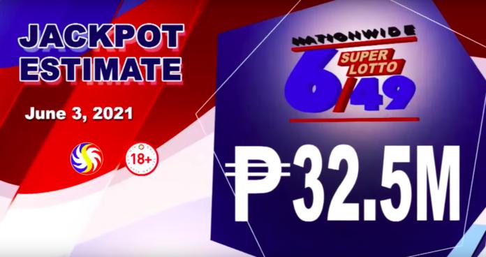 6/49 Super Lotto Result Today