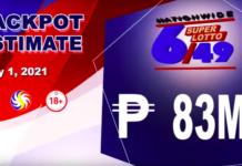 6/49 Super Lotto Result