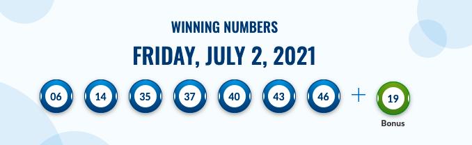 Canada Lotto Max Previous Result
